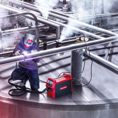Argon (Ar) là khí bảo vệ được sử dụng trong hàn Tig & Mig nhôm