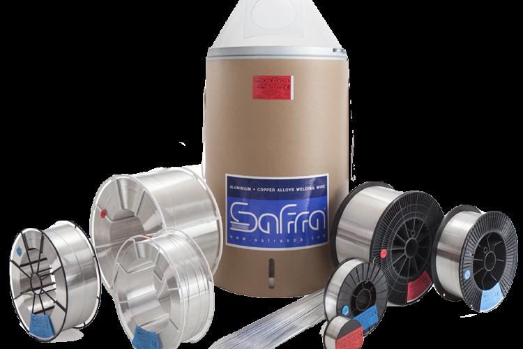 Vật liệu hàn nhôm Safra (Italia)